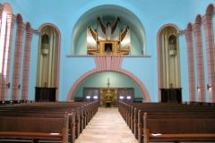 Blick vom Altar