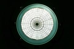 Oberlicht im Zentrum der Kuppel