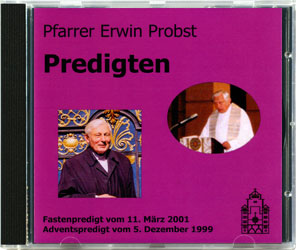 Pfarrer Erwin Probst - Predigten